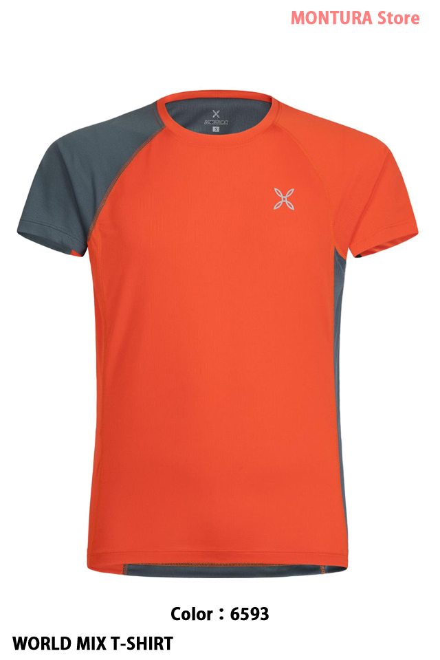MONTURA WORLD MIX T-SHIRT (MTGN21X)