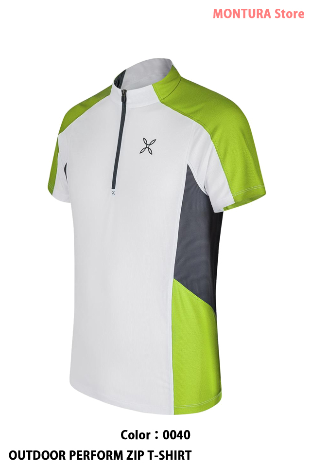 MONTURA OUTDOOR PERFORM ZIP T-SHIRT (MTZN50X)