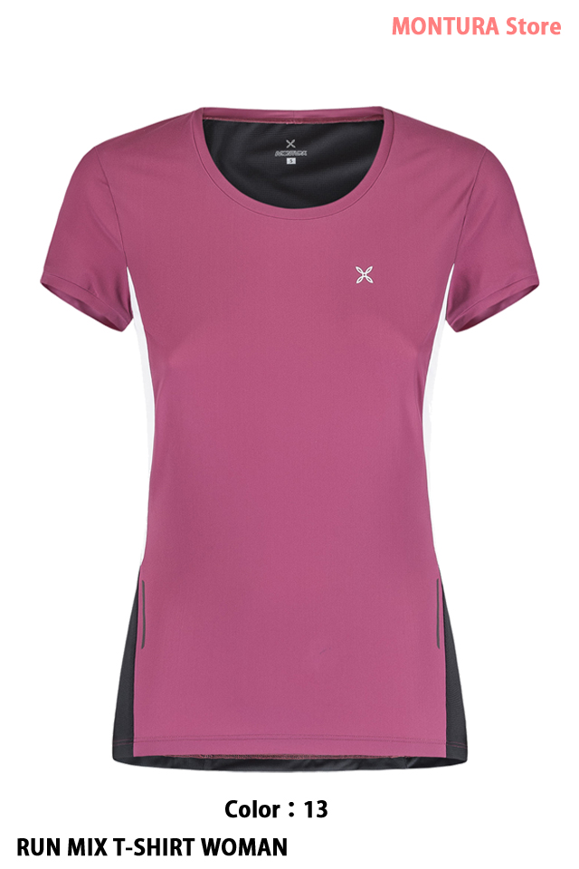 MONTURA RUN MIX T-SHIRT WOMAN (MTGR03W)
