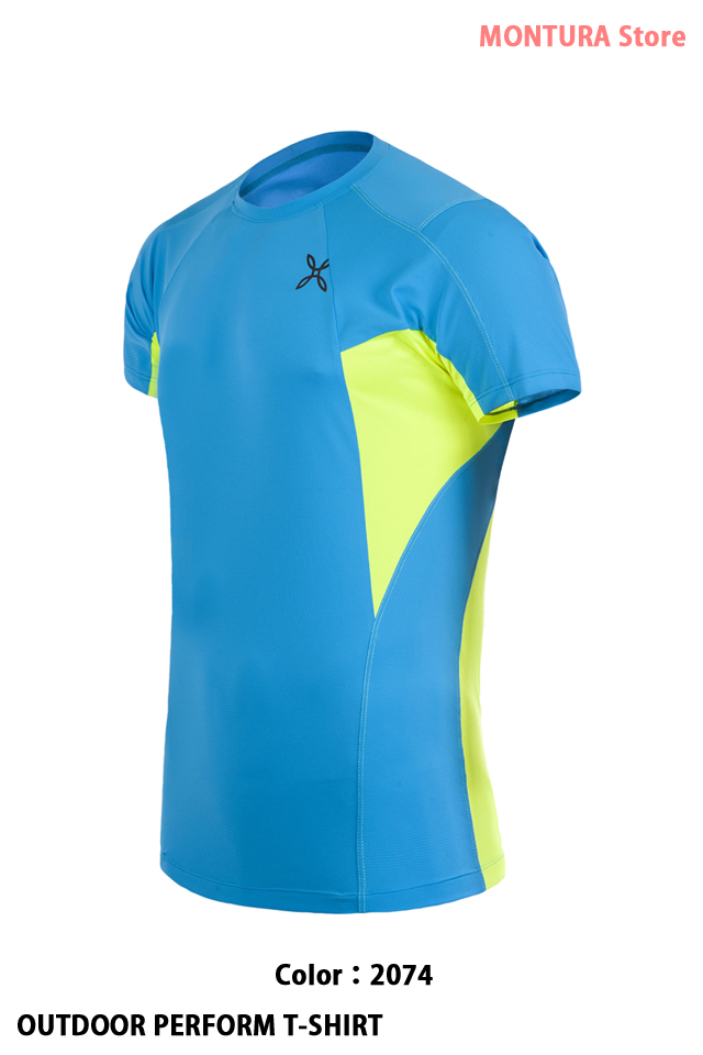 MONTURA OUTDOOR PERFORM T-SHIRT (MTGN51X)