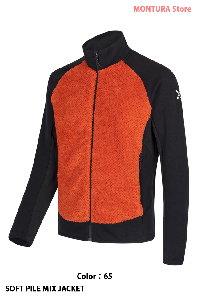 MONTURA SOFT PILE MIX JACKET (MJAP81X)