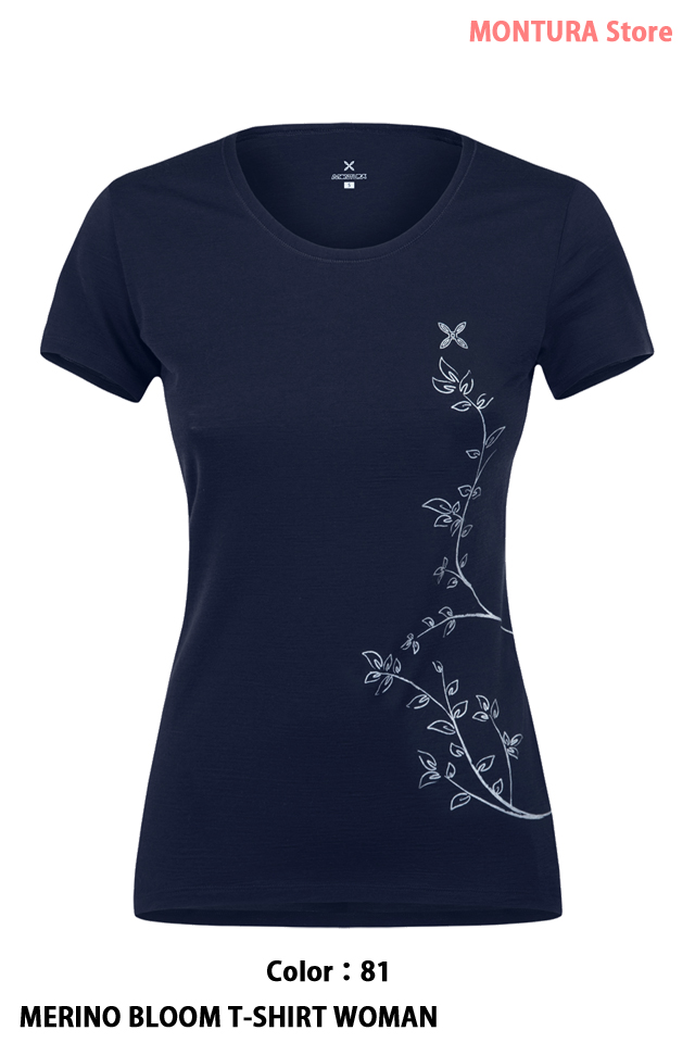 MONTURA MERINO BLOOM T-SHIRT WOMAN (MTSC15W)