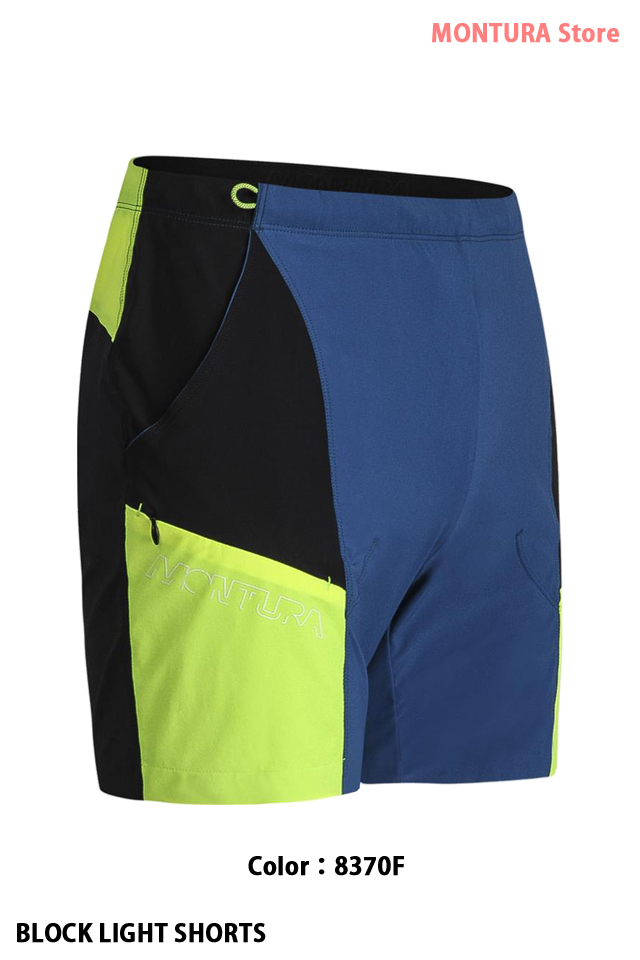 MONTURA BLOCK LIGHT SHORTS (MPSF24X)