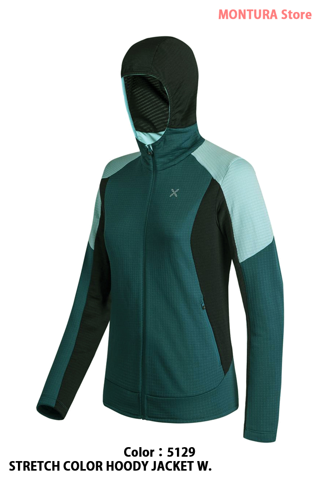 MONTURA STRETCH COLOR HOODY JACKET W. (MMAP09W)