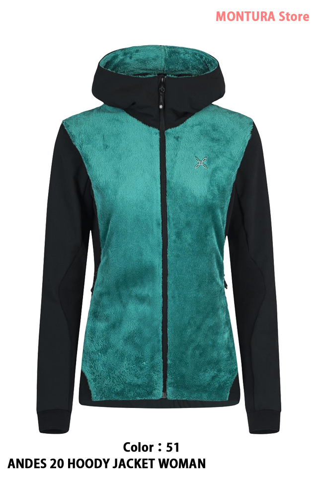 MONTURA ANDES 20 HOODY JACKET WOMAN (MJAP13W)