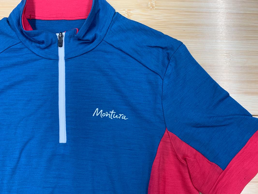 MONTURA MERINO TRENDY ZIP T-SHIRT WOM. (MTZC12W)